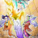 火取り魔【ヒトリマ】伝承妖怪お題絵(石川県)
